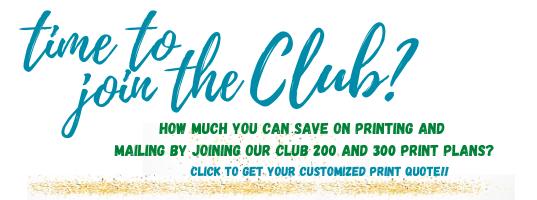 Club 200 & 300 promo banner